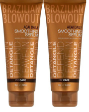 Brazilian Blowout Acai Daily Smoothing Serum, 8 Oz (Pack of 2)