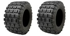 YAMAHA RAPTOR 350 2004–2013 Set of 2 Tusk Voltage Tires 20x11-9 6ply