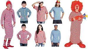 Ringelshirt Ringelpulli Ringel T Shirt Clown Matrosen Kostüm gestreift Seemann