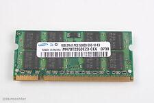 Samsung M470T2953EZ3-CE6 RAM Speicher 1GB 2Rx8 PC2-5300S-555-12-E3 Notebook m...
