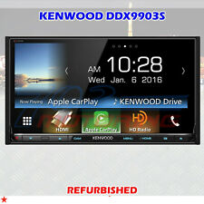 "KENWOOD DDX9903S 6.95"" DVD RECEIVER APPLE CARPLAY ANDROID AUTO HD BLUETOOTH -A-"