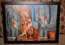 """ORIGINAL RUSSIAN PAINTING BY YURI SHLIKOV  (SHLYKOV) - """"DREAM FLUTE"""" - FRAMED"""