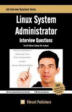 Linux System Administrator Interview Questions You'll Most Likely Be Asked by...