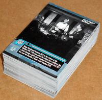 James Bond Mission Logs (2011) ~ COMPLETE 66-CARD BASE SET