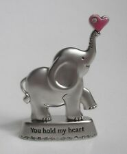 m You hold my heart Always Remember You Are Loved Elephant figurine Ganz mini