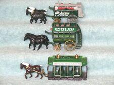 Lot of 3 - Lledo- Polarine Wagon, Lipton Tea Coach, Hershey Chocolate Trolley LN