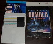 "PC 5.25"" Floppy Fighter Bomber Advanced Mission Disc (unopened) Activision"