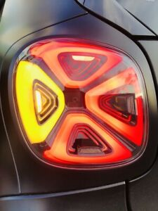 Smart 453 Fortwo Forfour LED Rear Tail Lights On Facelift 2020
