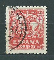 Spanien Loses 1945 Edifil 993 Gebraucht Pro TB
