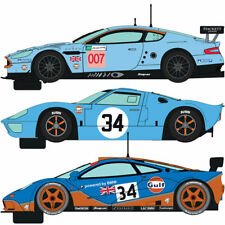 Scalextric Slot Car C4109A ROFGO Collection Gulf Triple Pack