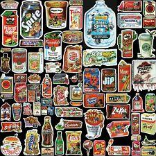 Funny Parody Food Drink Stickers 75 Designs! Laptop Car Helmet Glass Decal Vinyl