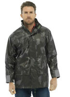 New Mens kagool Pacamac Lightweight Waterproof Jacket Festival Rainwear Zip Coat