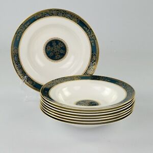 Royal Doulton Carlyle, 8 X Rim Bowls, 8 Inches