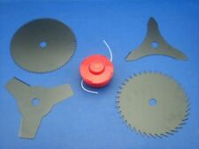 Set Coltelli+Fadenspule per Berlan BMS415-S Rückentragbare Decespugliatore