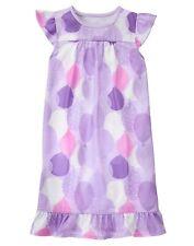 NWT Gymboree Purple Ballon Summer nightgown pjs Girls size M 7 8