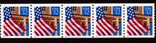 #2913 Flag over Porch PNC5  Pl #11111 (Shiny Gum) - MNH