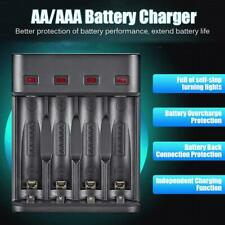 4 Slots Fast Charging Intelligent AA/AAA Rechargeable USB Battery Charger