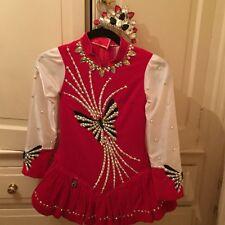 irish dance costume and custom made crown