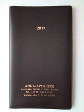 Taschenkalender 2017 von der Anna-Apotheke Düren - NEU