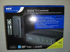 RCA DTA800B1 Digital-to-Analog TV Converter Box, Remote Cables Manual Brand NEW