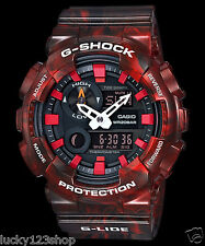 GAX-100MB-4A Red Casio Watches G-Shock 200M Analog Digital X-Large Resin