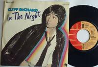 """Cliff Richard / In The Night / Keep On Lookin' 7"""" Single Vinyl 1980"""