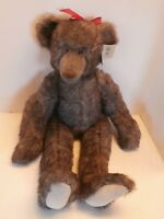 VINTAGE  TEDDY BEAR AMAZING ALL AMERICANA JOINTED  THIS ONE OF KIND