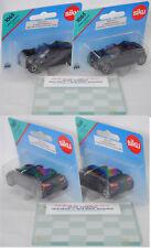 Siku Super 1065 2x smart roadster ohne Verdeck, schwarz, incl. Glasplatte