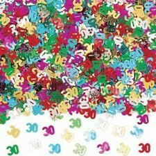 30th Happy Birthday Mix Table Confetti Glitz Party Decorations Age Scatter