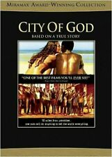 City of God (Dvd, 2004) Based on a True Story Directed by Fernando Meirelles New