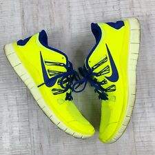 Nike Men Sneaker Running Athlete Neon Vibrant Shoes Lime Green Size 9 Eur 42.5