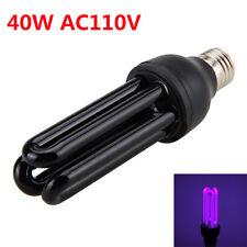 E27 UV 40W AC 110V Ultraviolet Blacklight Light Bulb Germicidal Sterilizer Lamp