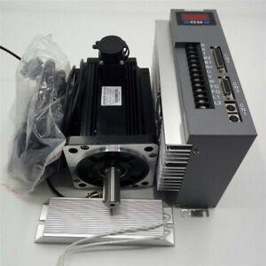 3.8KW 15NM AC Servo Motor NEMA52 Drive Kit For CNC Router 220V 2500RPM+Resistor