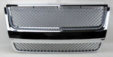 Ford Explorer 07-10 Honeycomb Mesh Chrome Front Hood Bumper Grill