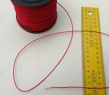1.2MM X 10M Red double braid Technora® Fiber Yacht Marine rope Vectran Ten:120kg
