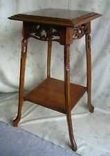 Frankreich Jugendstil Tisch Beistelltisch Blumentisch Edelholz Marmor