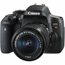 Canon EOS Rebel T6i 24.2MP Digital SLR Camera W/ Canon EF-S 18-55mm IS STM Lens