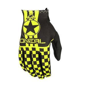 O'neal Matrix Kid MTB Mountain Bike Full Finger Glove NeonYellow+Black #0388KW
