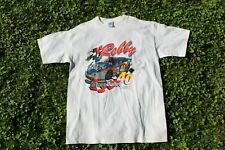 Vintage 1997 Robby Gordon The Silver Bullet Coors Light Racing Tee Autographed
