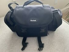 Kodak Camera Carrying Case - Black Nylon Travel Bag With Shoulder Strap