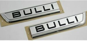 Original VW T6 Transporter Bulli Schriftzug Set Tür Emblem li + re