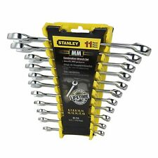 Stanley 11 Piece Metric Combination Wrench Set