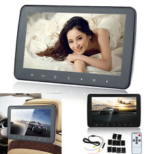 "10"" 1080P HD Digital LCD Screen Car Headrest Monitor Video Audio MP3 TV Player"