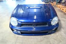 JDM 02-03 Subaru Impreza WRX Sedan Version 7 Front End Conversion Nose Cut