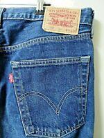 "LEVIS 581 Jeans Straight Leg Blue Denim SIZE W36 L32 Waist 36"" Leg 32"" LEVI 581"