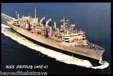 USS suministro aoe-6 Tarjeta Postal NOS MARINA Reposición Enviar