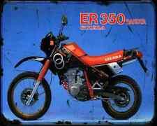 Gilera Er 350 Dakota 87 2 A4 Photo Print Motorbike Vintage Aged