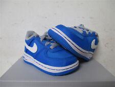 Nike Air Force 1 Low Photo Blue White Grey TD Toddler Sz 4 596730-400