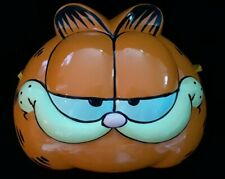 Vintage Garfield Mask Clay Art San Francisco #1901 Year 1978