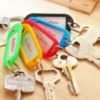 30pcs Key Chain Labels Lettering Key Tags Key Fob Multicolored tool. TI A5Z5